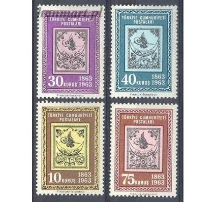 Znaczek Turcja 1963 Mi 1850-1853 Czyste **