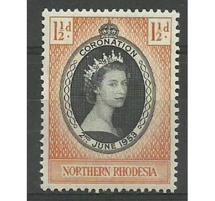 Znaczek Rodezja Północna 1953 Mi 60 Czyste **
