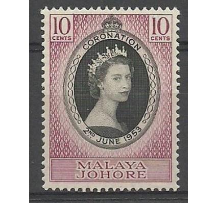 Znaczek Malezja 1953 Mi 140 Czyste **