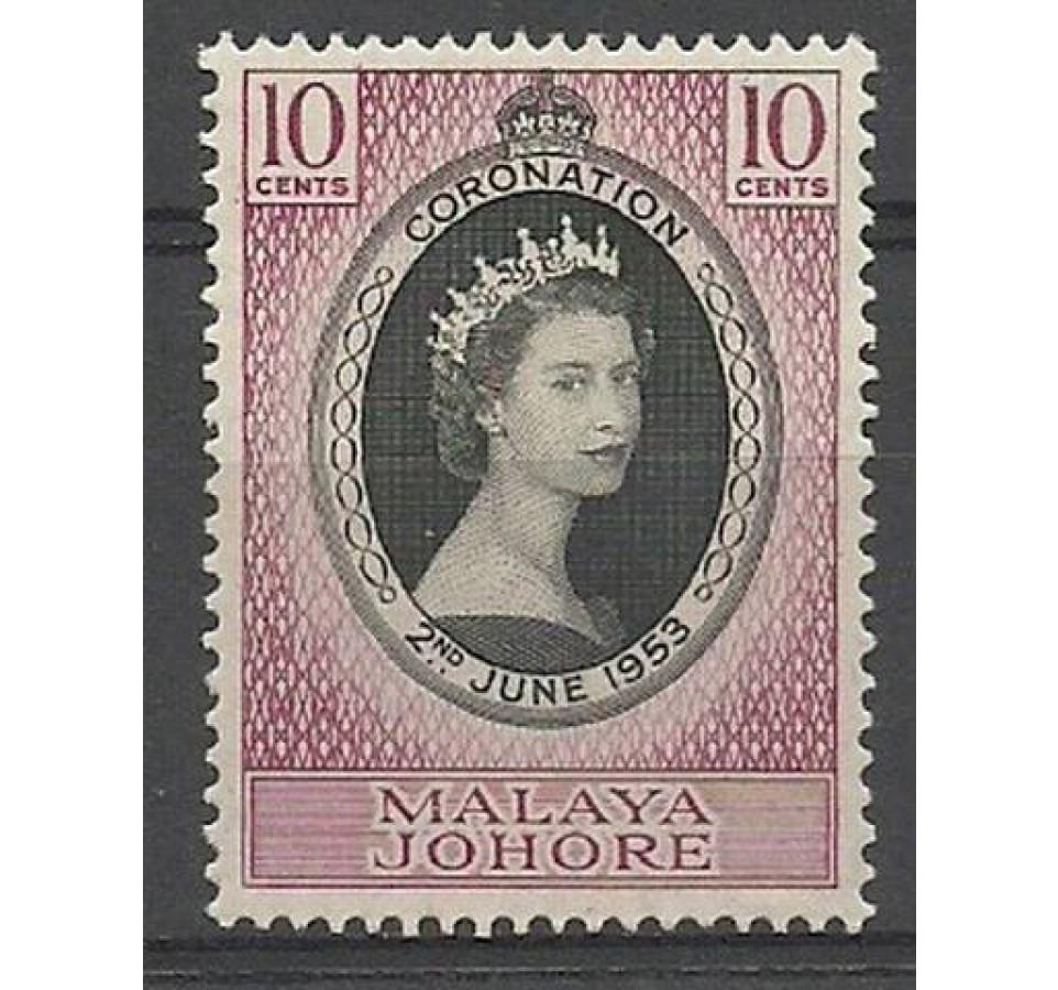 Malezja 1953 Mi 140 Czyste **