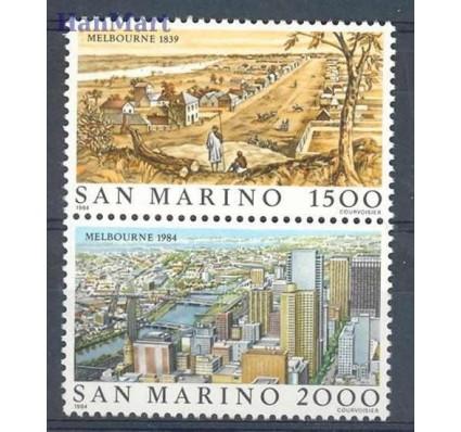 Znaczek San Marino 1984 Mi 1301-1302 Czyste **