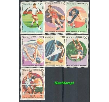 Znaczek Nikaragua 1988 Mi 2853-2859 Czyste **