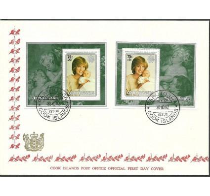 Znaczek Wyspy Cooka 1982 Mi bl 128-129 FDC