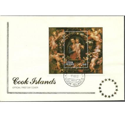 Znaczek Wyspy Cooka 1986 Mi bl 173 FDC