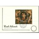 Wyspy Cooka 1986 Mi bl 173 FDC