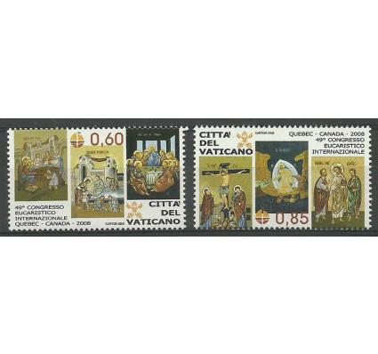 Znaczek Watykan 2008 Mi 1614-1615 Czyste **