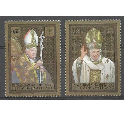 Znaczek Watykan 2008 Mi 1617-1618 Czyste **