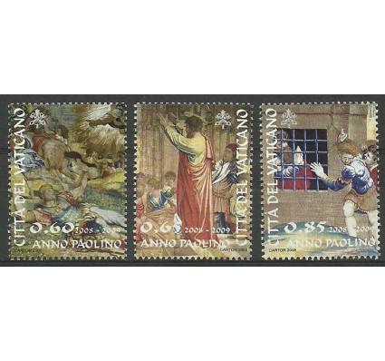 Znaczek Watykan 2008 Mi 1619-1621 Czyste **