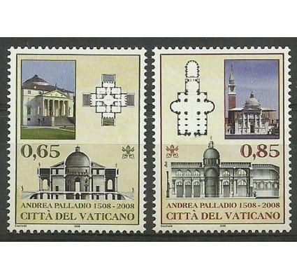 Znaczek Watykan 2008 Mi 1623-1624 Czyste **