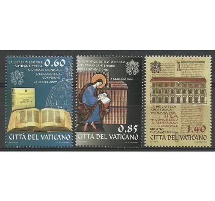 Znaczek Watykan 2009 Mi 1642-1644 Czyste **