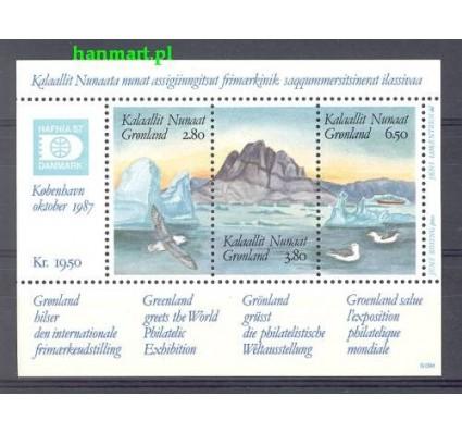 Znaczek Grenlandia 1987 Mi bl 1 Czyste **