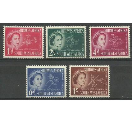Znaczek Afryka Południowo-Zachodnia 1953 Mi 274-278 Czyste **