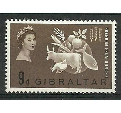 Znaczek Gibraltar 1963 Mi 163 Czyste **