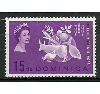 Znaczek Dominika 1963 Mi 177 Czyste **