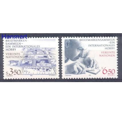 Znaczek Narody Zjednoczone Wiedeń 1986 Mi 60-61 Czyste **