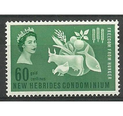 Znaczek Nowe Hebrydy 1963 Mi 194 Czyste **