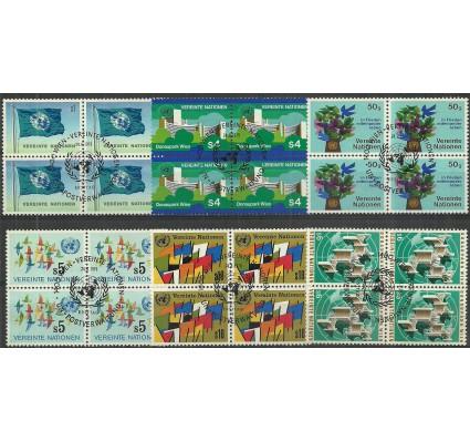 Znaczek Narody Zjednoczone Wiedeń 1979 Mi 1-6 Stemplowane