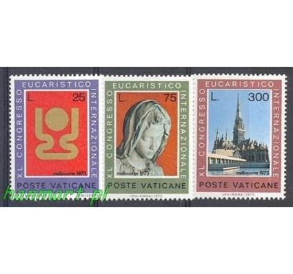 Znaczek Watykan 1973 Mi 615-617 Czyste **