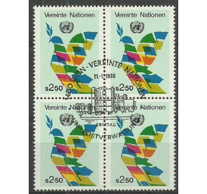 Znaczek Narody Zjednoczone Wiedeń 1980 Mi 8 Stemplowane