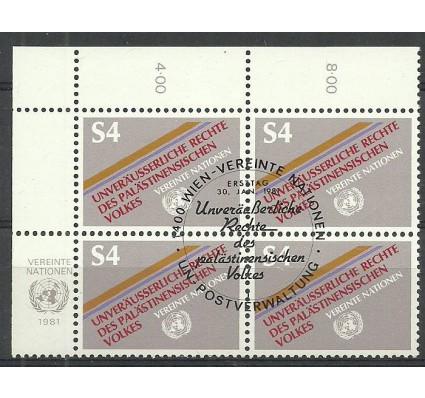 Znaczek Narody Zjednoczone Wiedeń 1981 Mi 16 Stemplowane