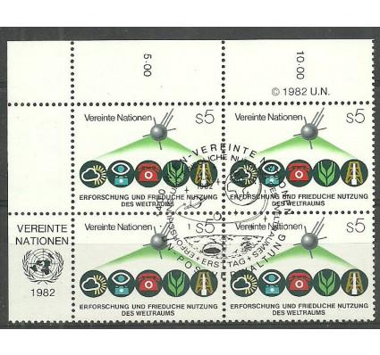 Znaczek Narody Zjednoczone Wiedeń 1982 Mi 26 Stemplowane