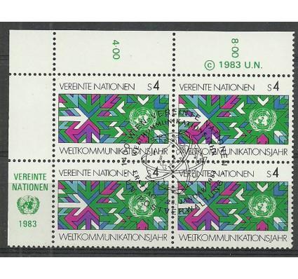 Znaczek Narody Zjednoczone Wiedeń 1983 Mi 29 Stemplowane