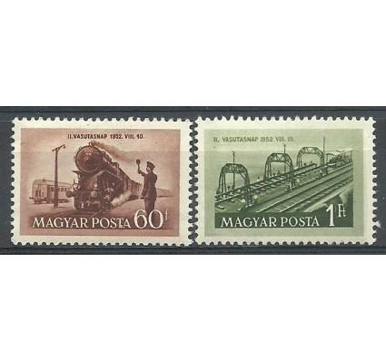 Znaczek Węgry 1952 Mi 1261-1262 Czyste **