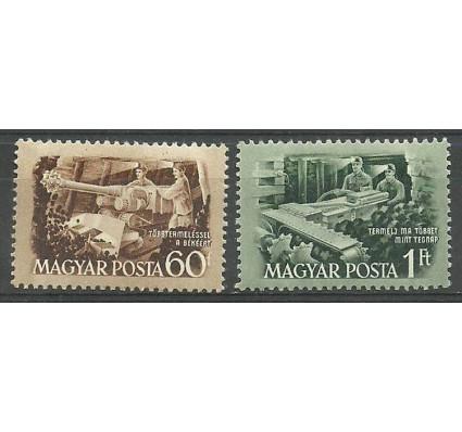 Znaczek Węgry 1952 Mi 1263-1264 Czyste **
