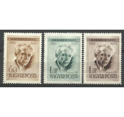 Znaczek Węgry 1955 Mi 1450-1452 Czyste **