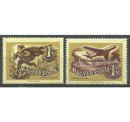 Znaczek Węgry 1957 Mi 1501-1502 Czyste **