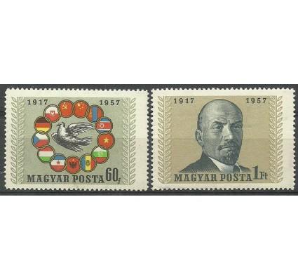 Znaczek Węgry 1957 Mi 1503-1504A Czyste **