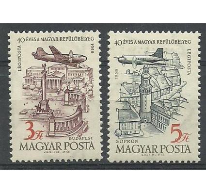 Znaczek Węgry 1958 Mi 1557-1558 Czyste **