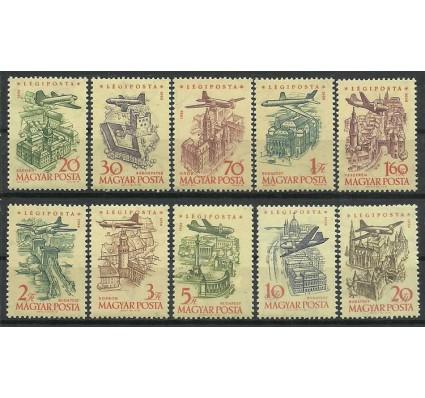 Znaczek Węgry 1958 Mi 1561-1570 Czyste **