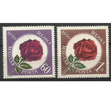 Znaczek Węgry 1959 Mi 1581-1582 Czyste **