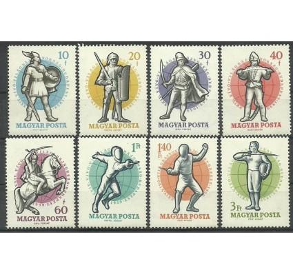 Znaczek Węgry 1959 Mi 1601-1608 Czyste **