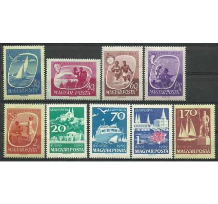 Znaczek Węgry 1959 Mi 1609-1617 Czyste **