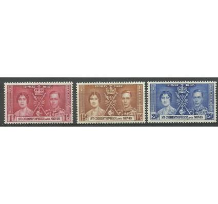 Znaczek Saint Kitts i Nevis 1937 Mi 69-71 Czyste **