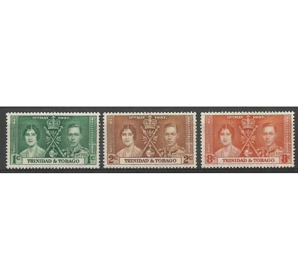 Znaczek Trynidad i Tobago 1937 Mi 128-130 Czyste **