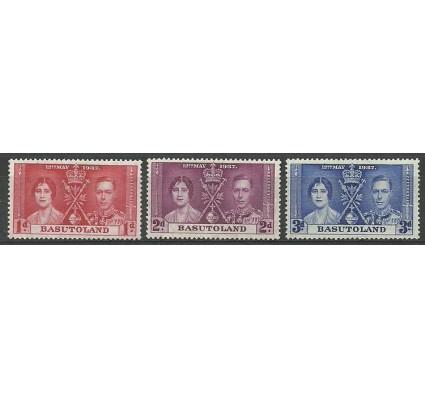 Znaczek Basutoland / Basuto 1937 Mi 15-17 Czyste **