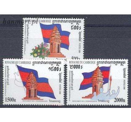 Kambodża 2000 Mi 2130-2132 Czyste **