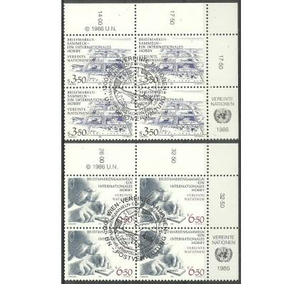 Znaczek Narody Zjednoczone Wiedeń 1986 Mi 60-61 Stemplowane