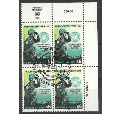Znaczek Narody Zjednoczone Wiedeń 1989 Mi 91 Stemplowane