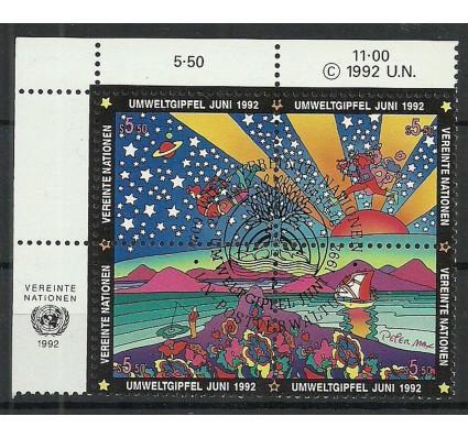 Znaczek Narody Zjednoczone Wiedeń 1992 Mi 129-132 Stemplowane