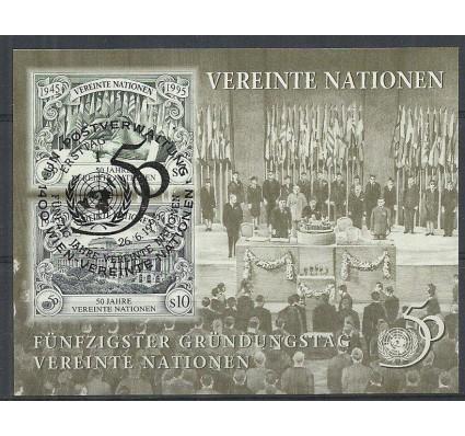 Znaczek Narody Zjednoczone Wiedeń 1995 Mi bl 6 Stemplowane