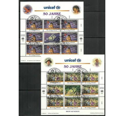 Znaczek Narody Zjednoczone Wiedeń 1996 Mi ark 218-219 Stemplowane