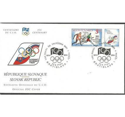 Znaczek Słowacja 1994 Mi zf 194 FDC