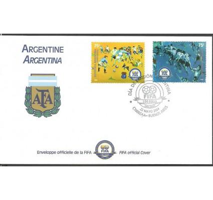 Znaczek Argentyna 2004 Mi 2890-2891 FDC