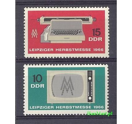 NRD / DDR 1966 Mi 1204-1205 Czyste **