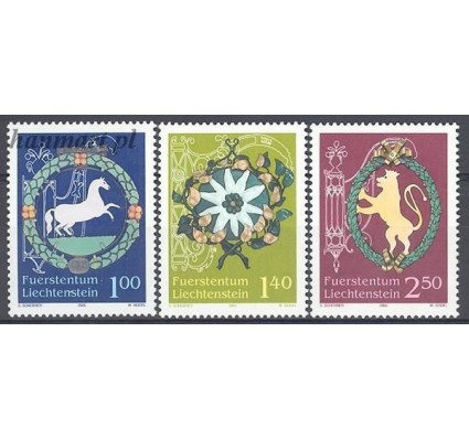 Znaczek Liechtenstein 2005 Mi 1377-1379 Czyste **