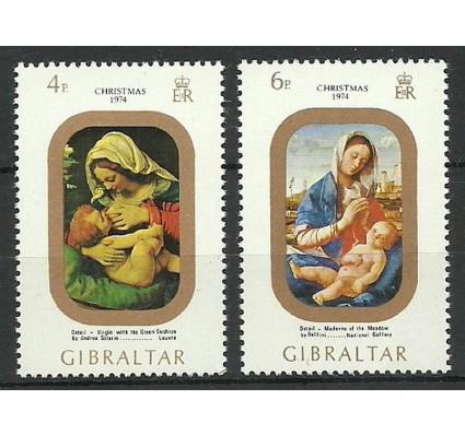 Znaczek Gibraltar 1974 Mi 317-318 Czyste **